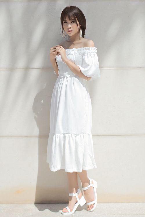 1000 kiểu váy maxi trắng cho nàng diện hè 3
