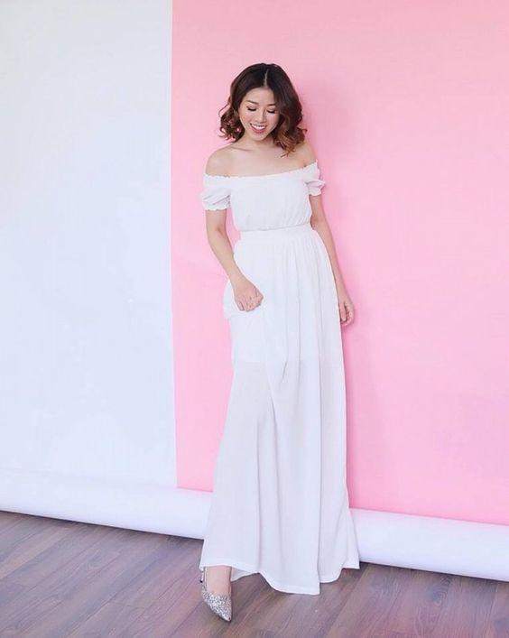 1000 kiểu váy maxi trắng cho nàng diện hè 4