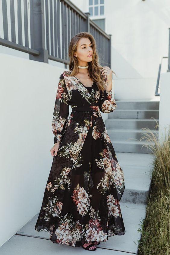 váy maxi cho cô nàng đầy đặn