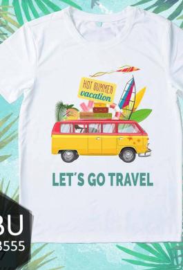Áo đồng phục let's go travel