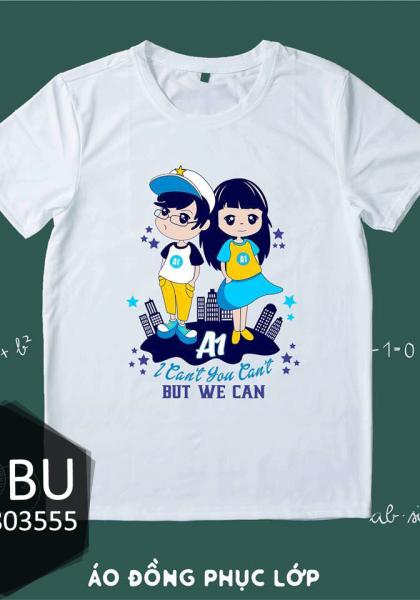 áo đồng phục lớp we can