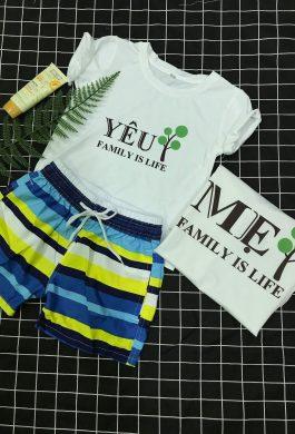 áo gia đình yêu mẹ, yêu ba