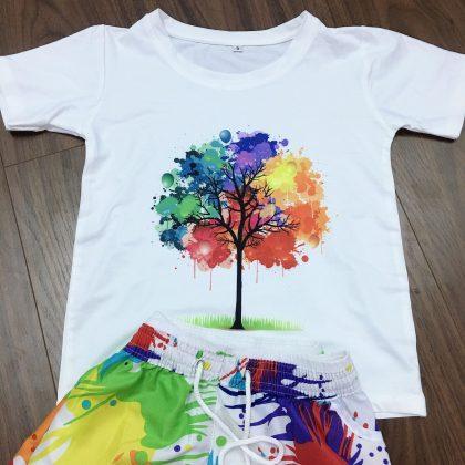 Quần áo đi biển color tree AL015