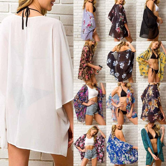 Áo Kimono đi biển – bật mí cách lựa chọn Kimono làm chủ mùa hè 1