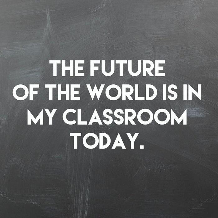 khẩu hiệu hay trong lớp học viết trên bảng