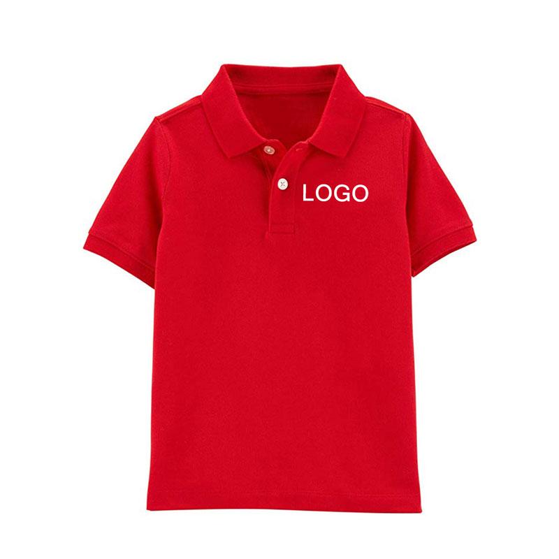 hình áo polo đỏ
