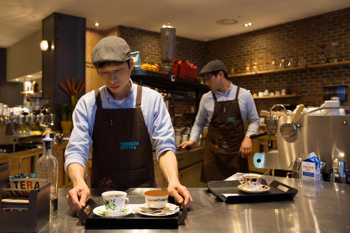 Đồng Phục Quán Cafe Terarosa