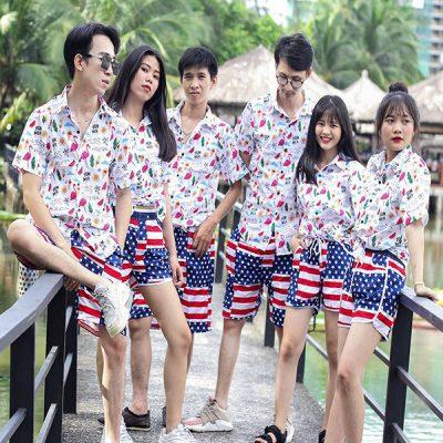 39+ Cách phối đồ với áo sơ mi đi biển chuẩn Fashionista 6