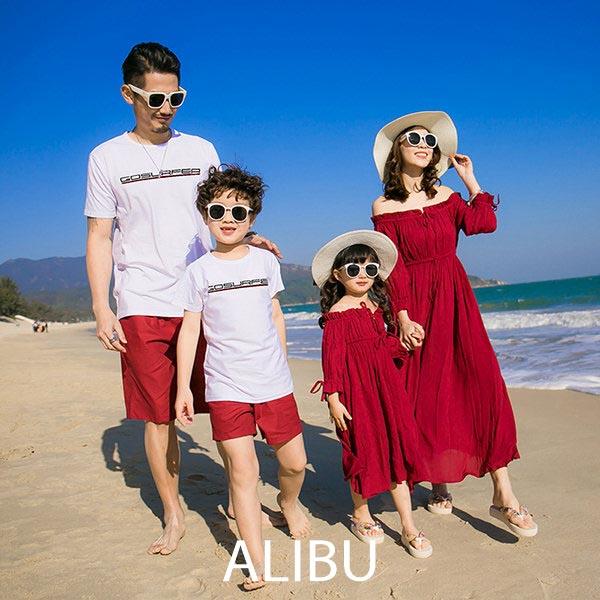 hình áo gia đình đi biển 3