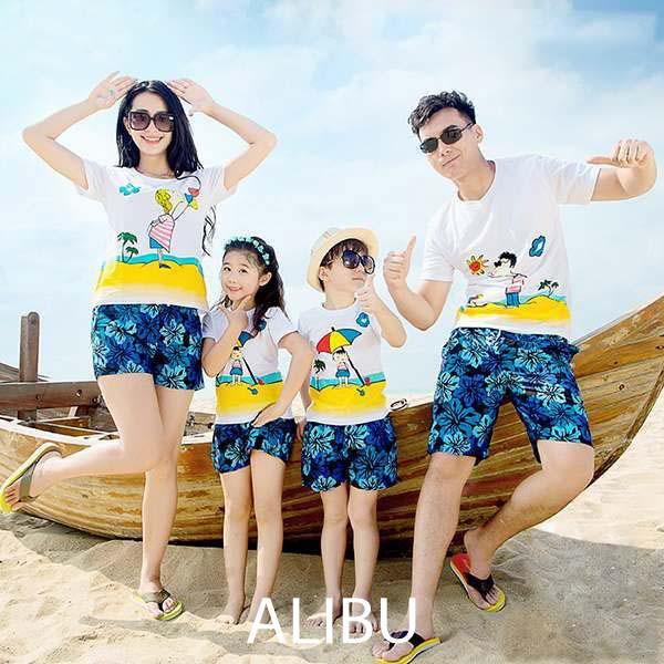 hình áo gia đình đi biển 8