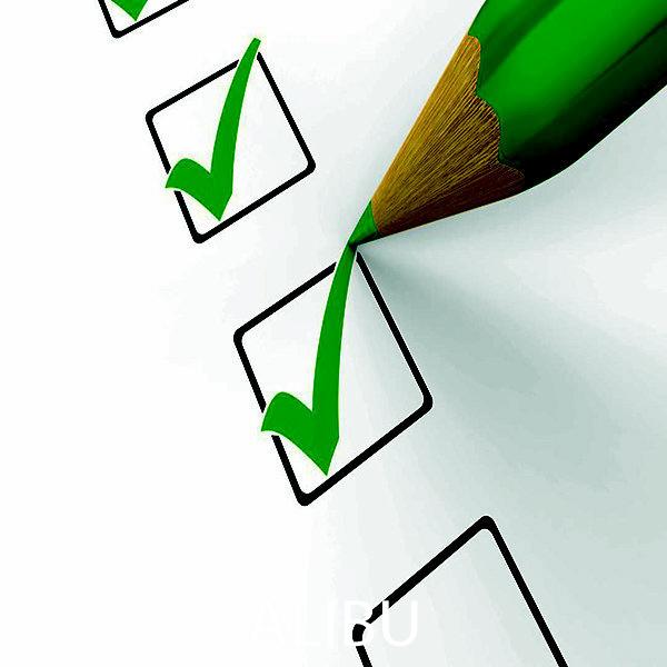 hình checklist khi đi du lịch