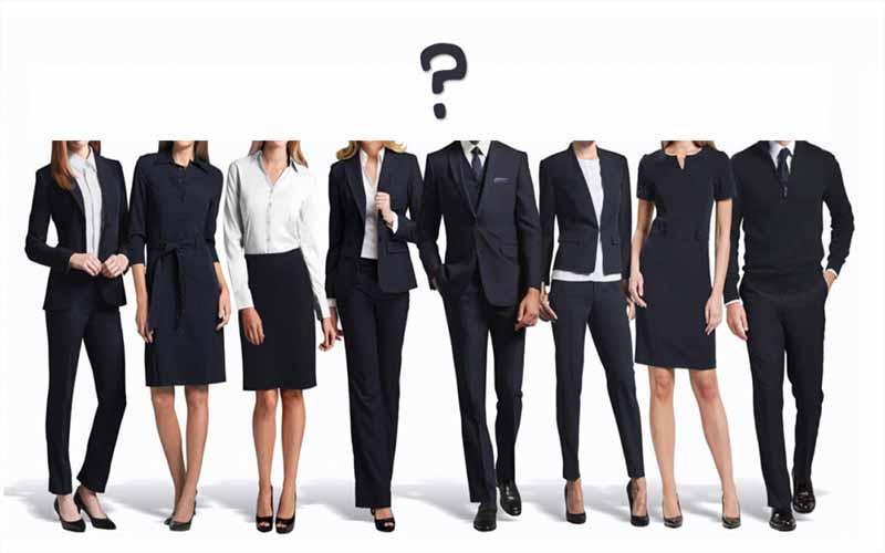 mẫu trang phục cần thiết đảm bảo cách phỏng vấn thành công