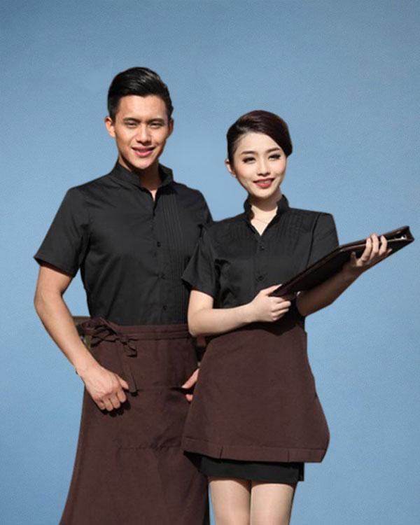 Đồng9 phục cafe mẫu số