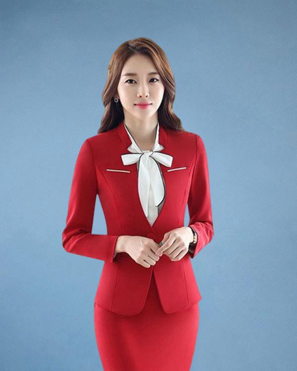 Vest lễ tân đồng phục tạo nét đẹp sang chảnh và chỉn chu cho nhân viên lễ tân