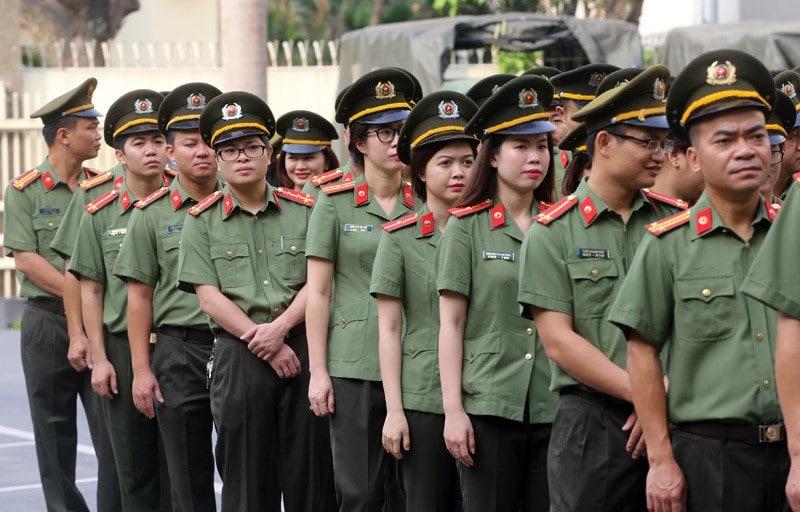 Đồng phục lực lượng an ninh kinh tế