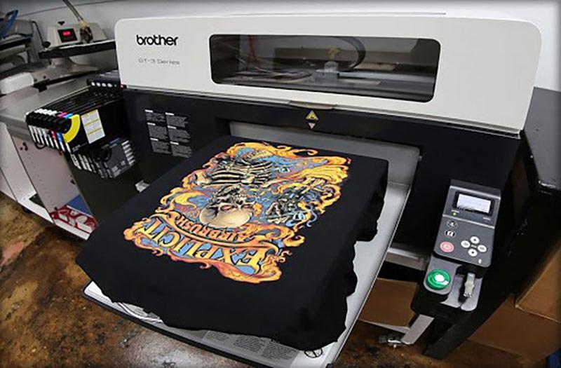 In kỹ thuật số trực tiếp trên vải thông qua máy in chuyên dụng
