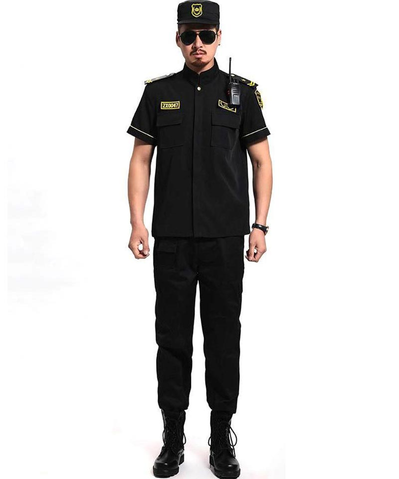 Mẫu đồng phục màu đen cực độc đáo