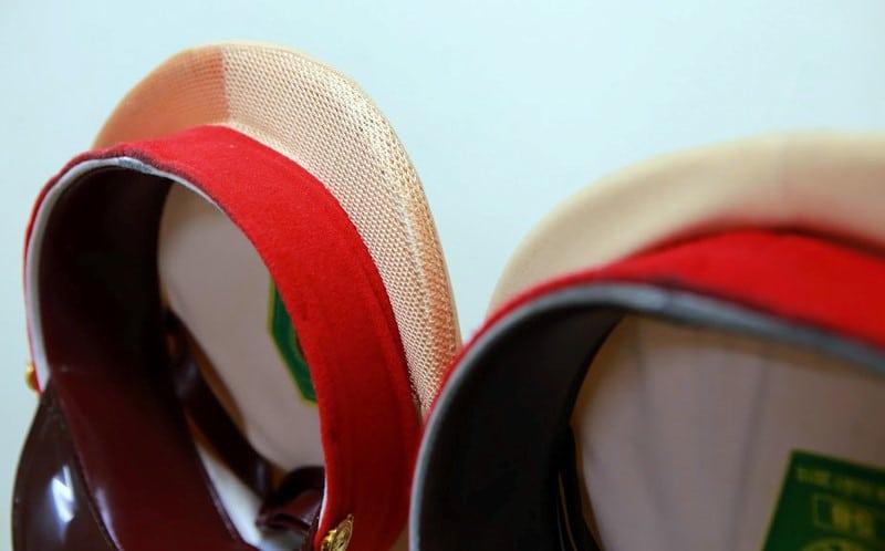 Mũ sử dụng loại vải giúp thông thoáng hơn