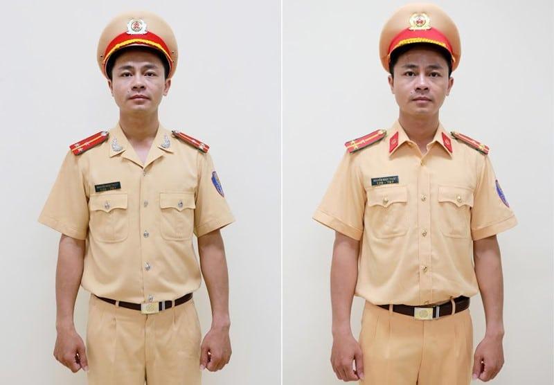 Sự thay đổi của mẫu đồng phục cảnh sát giao thông trước đây và hiện tại