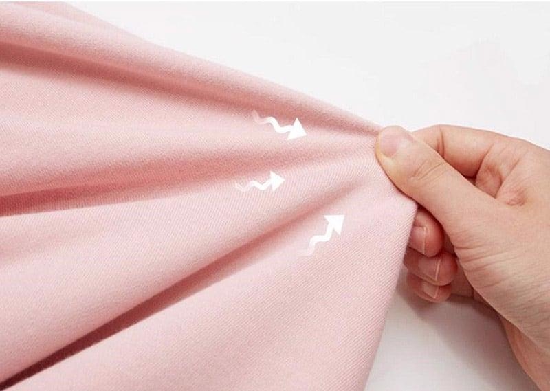 Vải cotton có khả năng co giãn cực tốt
