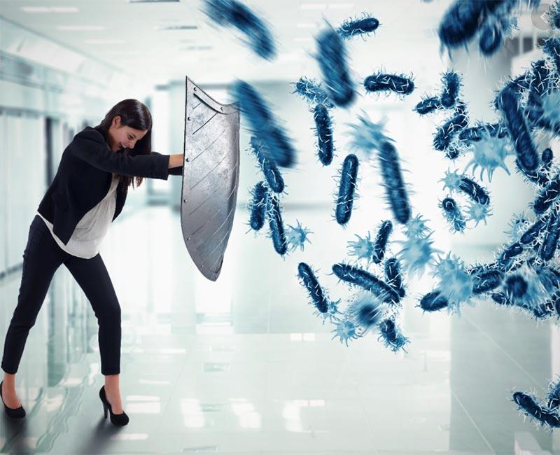 Vải sợi tre ngăn chặn sự phát triển của vi khuẩn và nấm mốc