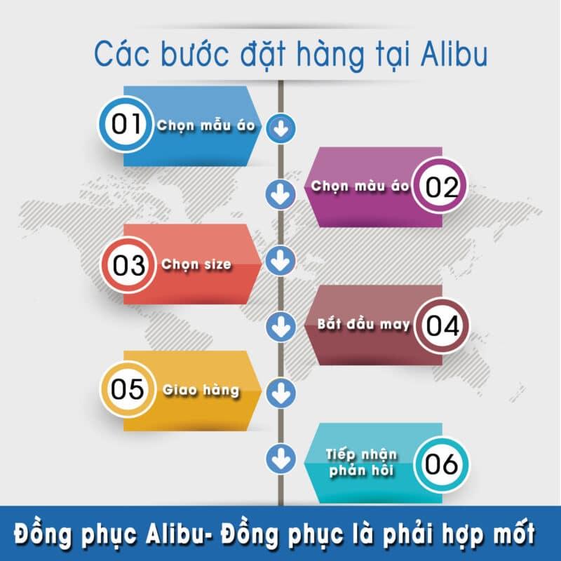 Các Bước Đặt May Đồng Phục Tại Alibu