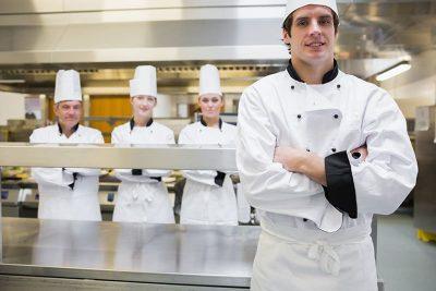 các chức danh ở trong bộ phận bếp