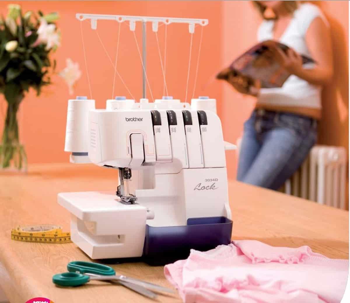 Để vải may đẹp hơn cần phải dùng đến máy vắt sổ