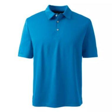 áo polo đồng phục xanh