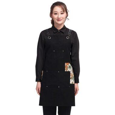 áo đồng phục quán cafe Hàn Quốc mặt trước 1
