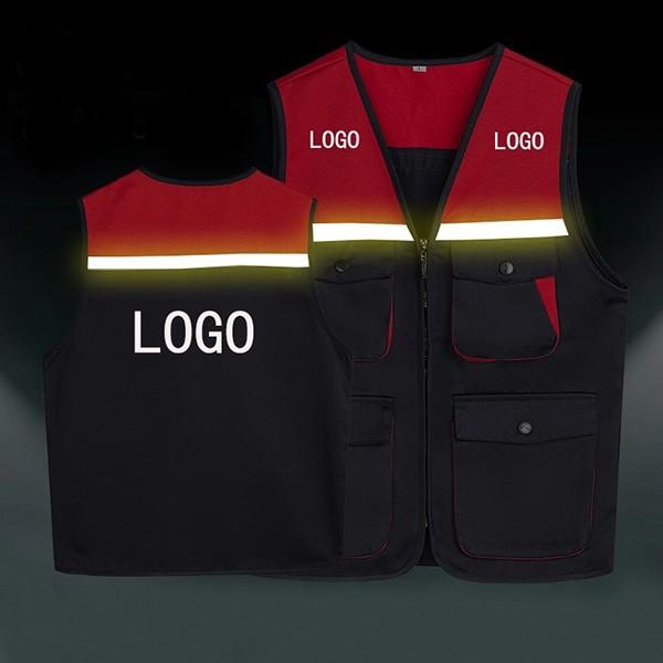 Áo gile lê túi hộp phản quang có tính năng bảo hộ cực cao vì khả năng phả xạ ánh sáng trong đêm tối