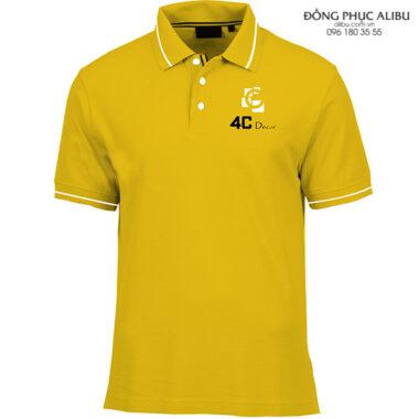 Áo thun đồng phục có cổ mẫu ATDPCC01