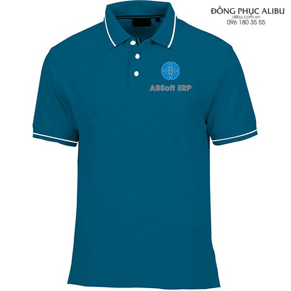 Áo thun đồng phục có cổ mẫu ATDPCC03