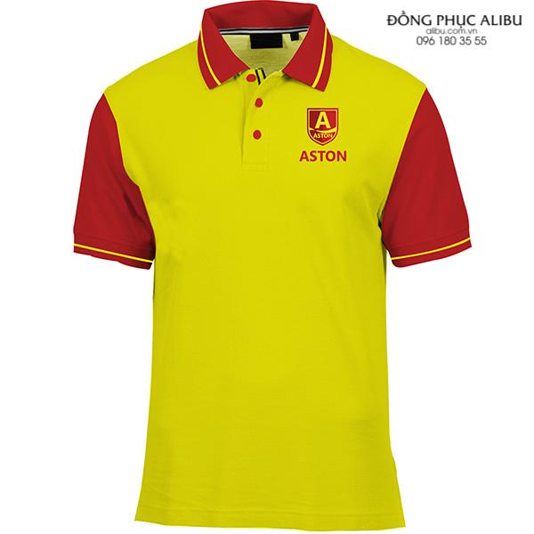 Áo thun đồng phục có cổ mẫu ATDPCC09