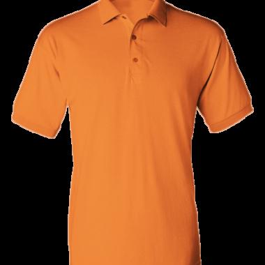 Áo thun đồng phục polo màu cam