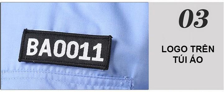 Đồng phục bảo vệ có logo, phù hiệu sẽ tạo cảm giác tin cậy cho người xung quanh