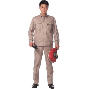 Đồng phục kỹ sư xây dựng mặt trước màu xám 1