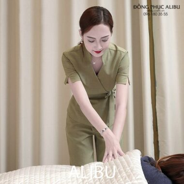 Đồng Phục Massage Mẫu DPMSG03